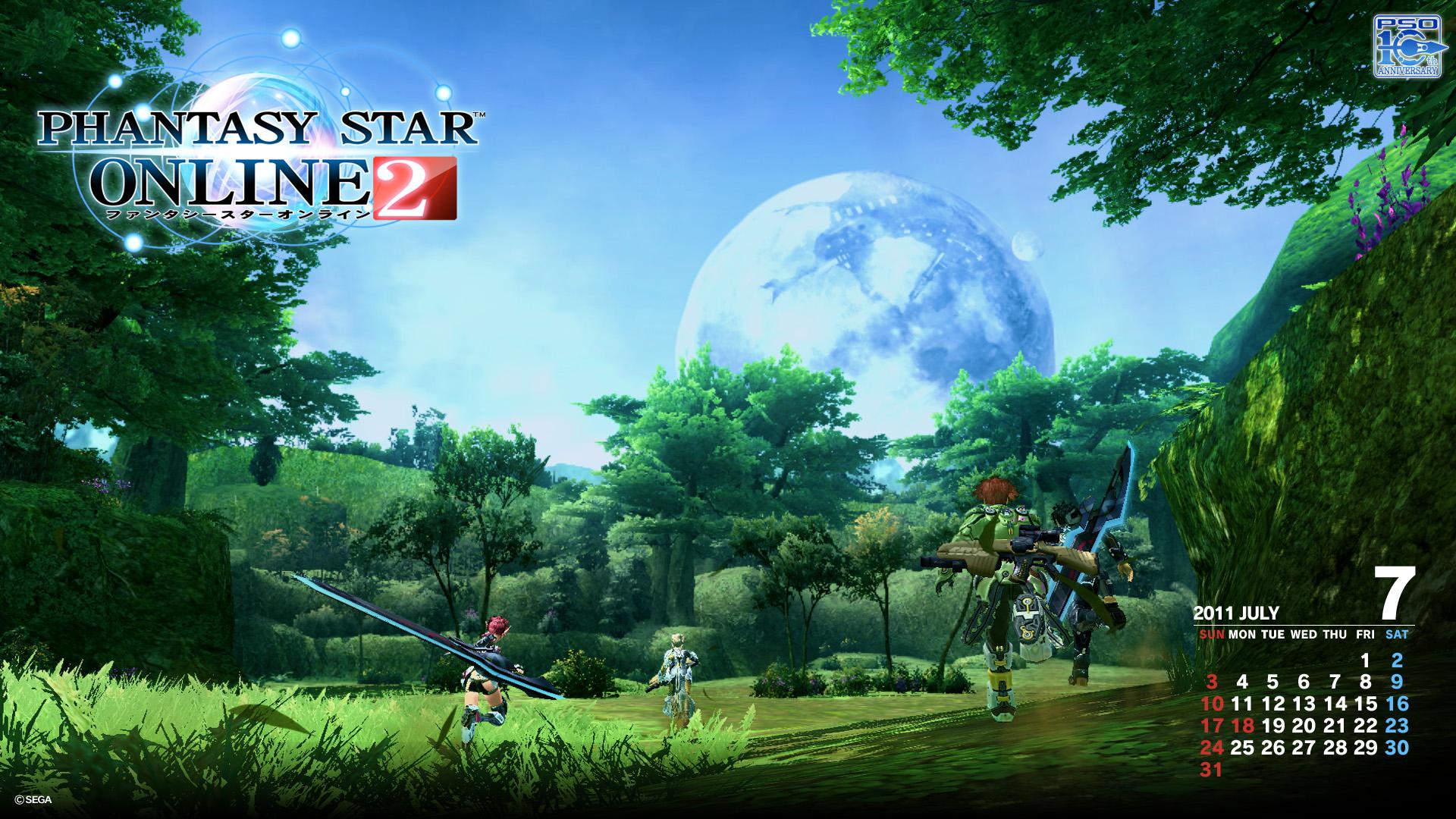 Phantasy Star Online 2 Wallpaper: PSO2 Screens And Gameplay Video