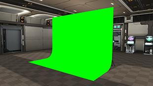 グリーン撮影ブース