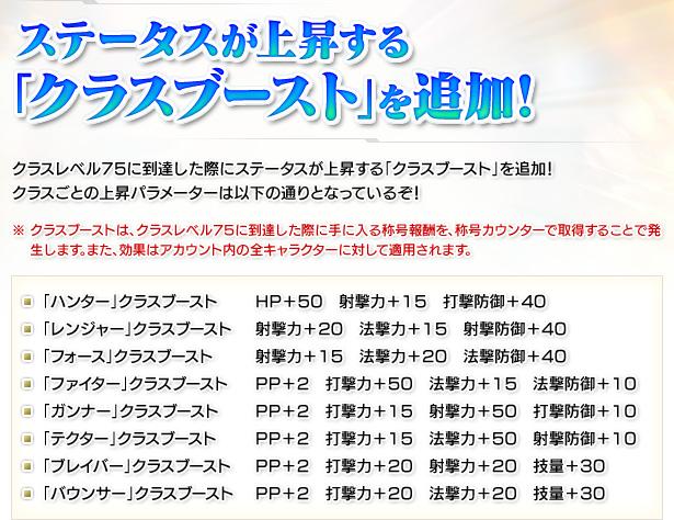 【PSO2】クラスブースト廃止要望スレ5 [転載禁止]©2ch.net ->画像>9枚